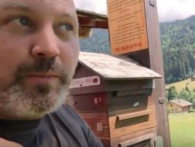 Une ruche pédagogique dans les Alpes françaises