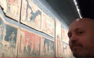 Vidéo dans laquelle je te montre une des oeuvres les plus uniques au monde. Les tapisseries de l'Apocalypse.