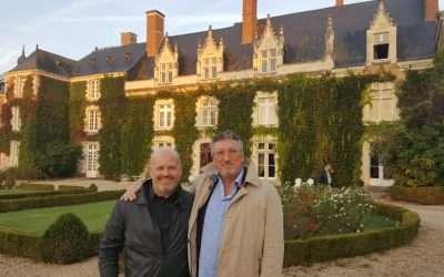 Je te fais visiter en vidéo tout le château dans lequel j'ai présenté une conférence/atelier près de Angers en France