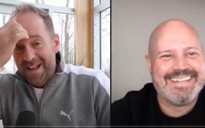 J'accorde une entrevue à mon ami François lemay pour expliquer le concept d'embrasser l'inconfort et le changement pour grandir