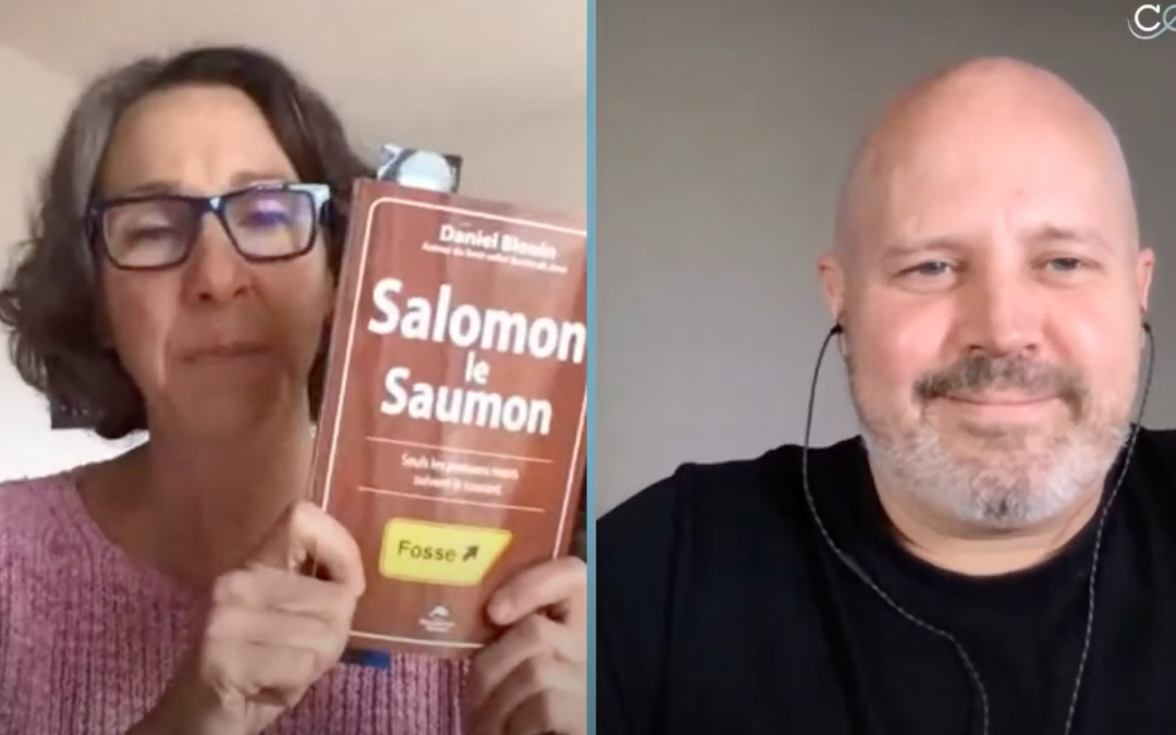 On parle de Salomon le Saumon avec l'animatrice France Gauthier