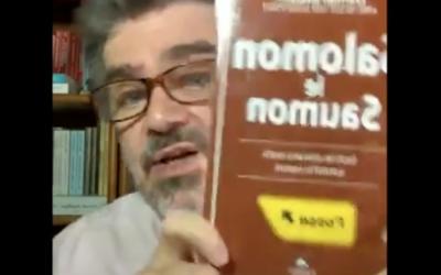 L'éditeur Alain Williamson des Éditions du Dauphin Blanc fait la critique de Salomon le Saumon.